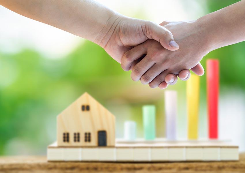 onroerend goed leasen of huren met aankoopoptie en met voorafbepaalde prijs