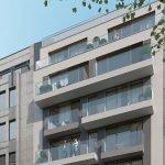 gebouw met nieuwbouw studios in brussel te koop vlakbij europese wijk gemeubileerde verhuur als belegging