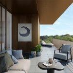 gigantisch terras van penthouse te koop watermaal bosvoorde vorstlaan uitzichten over zoniënwoud toplocatie