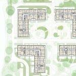 grondplan eerste verdieping met investeringsappartementen in brussel te koop op toplocatie