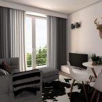 illustratie van optioneel meubelpakket te koop om gemeubeld te verhuren aan expats in brussel