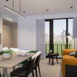 studio kopen in brussel aan europese wijk mogelijk in deze residentie in kortenberglaan