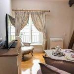 illustratie interieur en afwerking meubilair huisraad franse stijl premium klassevol design woonunits te koop