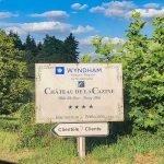 welkomstbord bezoekers wyndham halcyon retreat golf & spa resort luxe resort