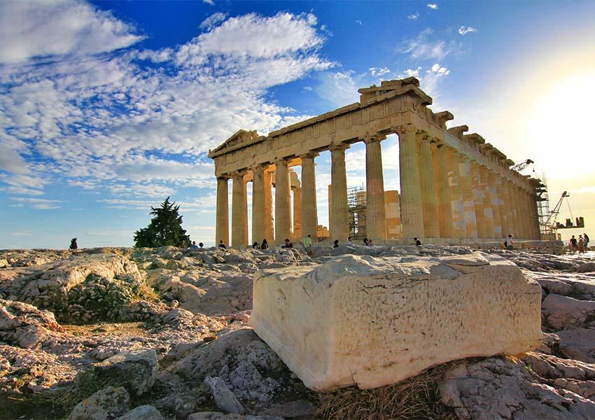 beste plaatsen om vakantiewoning te kopen op grieks vasteland impressie parthenon athene