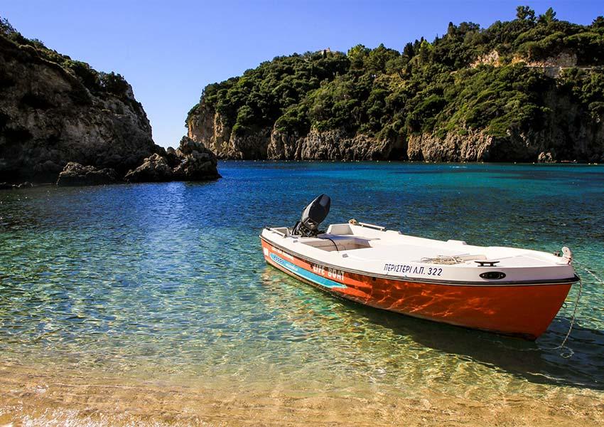 corfu romantisch onderdeel van ionische eilandengroep griekse eilanden