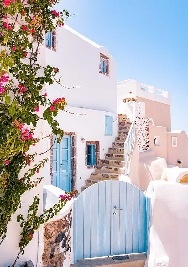 is het veilig om in griekenland te investeren oia griekenland gesloten blauw hek