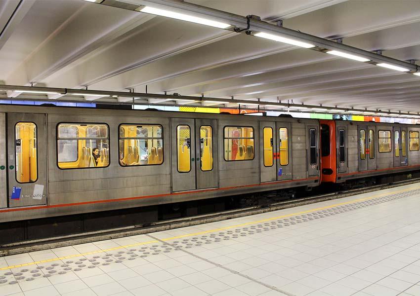 metrotoestel ondergronds netwerk goede ondergrondse connectiviteit in hoofdstad