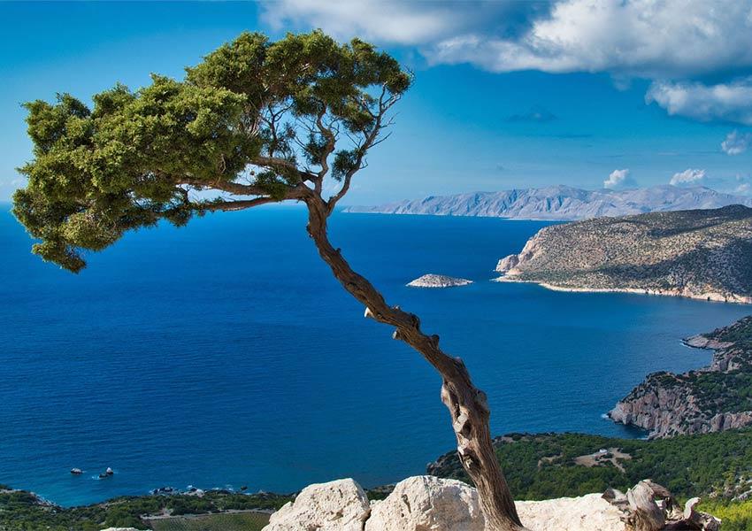 rhodos kustlijn onderdeel dodekanesos archipel