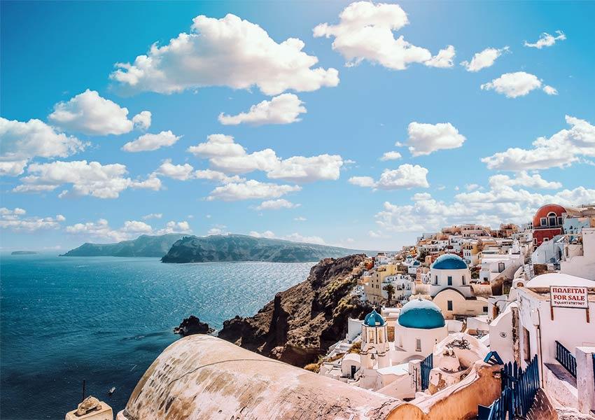 santorini klassiek sfeerbeeld prachtige locatie griekenland