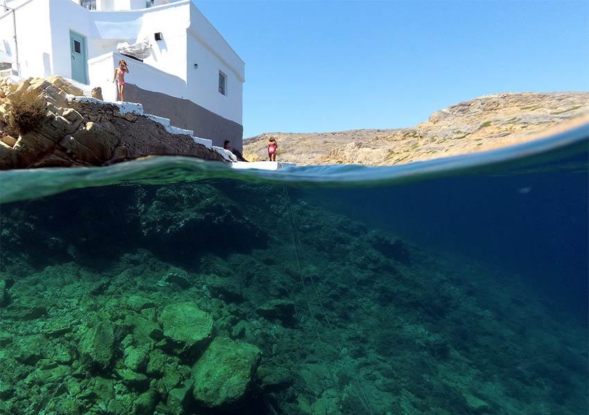 sifnos eiland vissersdorp cheronissos klassieke witgekalkte woningen prachtige natuur