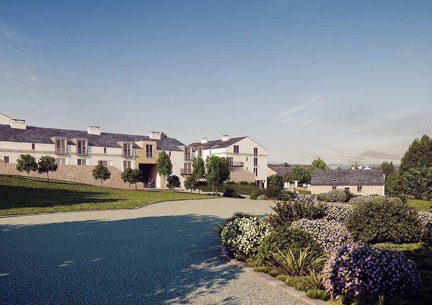 vakantiehuis kopen frankrijk in le village appartementen tot slaapkamers te koop als opbrengsteigendom met zes weken eigen gebruik