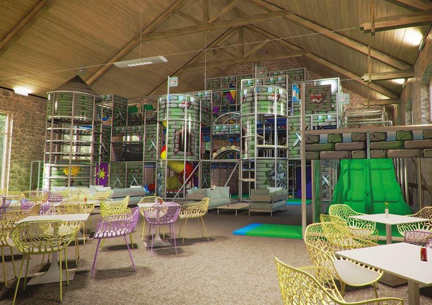 vastgoed in frankrijk kopen in luxe recreatiepark halcyon retreat limousin frankrijk reuze binnenspeeltuin voor kinderen prachtige faciliteiten